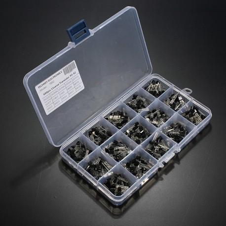 Boite de 600 Transistors 15 Références