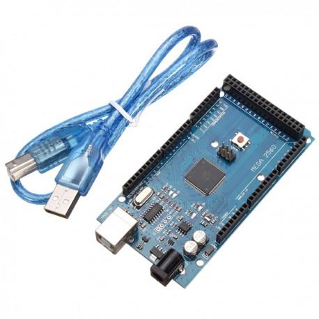 Carte Mega 2560 Révision 3 avec câble USB
