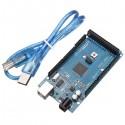 Carte Mega 2560 Rév. 3 avec câble USB