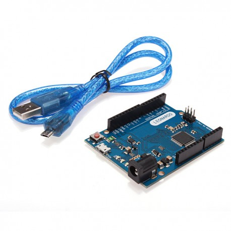 Carte Léonardo Rév. 3 avec câble USB