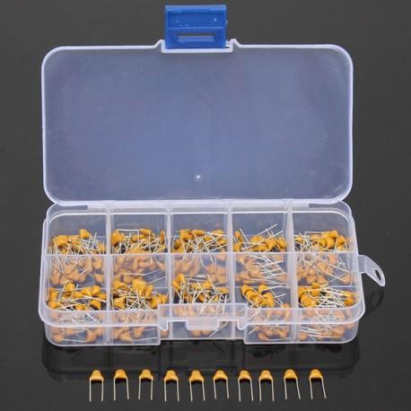 Kit de 300 Condensateurs 10pF à 100nF