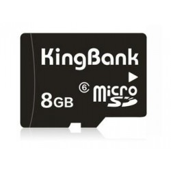Carte Micro SD 8 GB