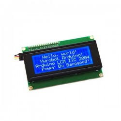 Afficheur LCD 20x4 avec interface I2C