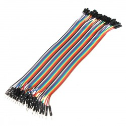 120 Câbles de 20cm MF/FF/MM
