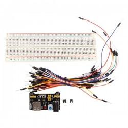 Kit de prototypage avec fils et alimentation