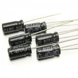 200 Condensateurs 0.1µF à 220µF