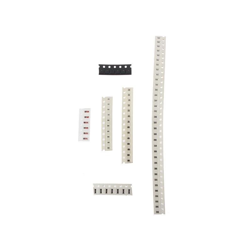 Dynamovolition 660Pcs 33 Valeurs 1206 0805 0603 Kit de r/ésistance CMS Kit assorti 1ohm-1Mohm 1/% 33values /â/€/‹/â/€/‹x 20pcs = 660pcs Kit d/échantillons Blanc