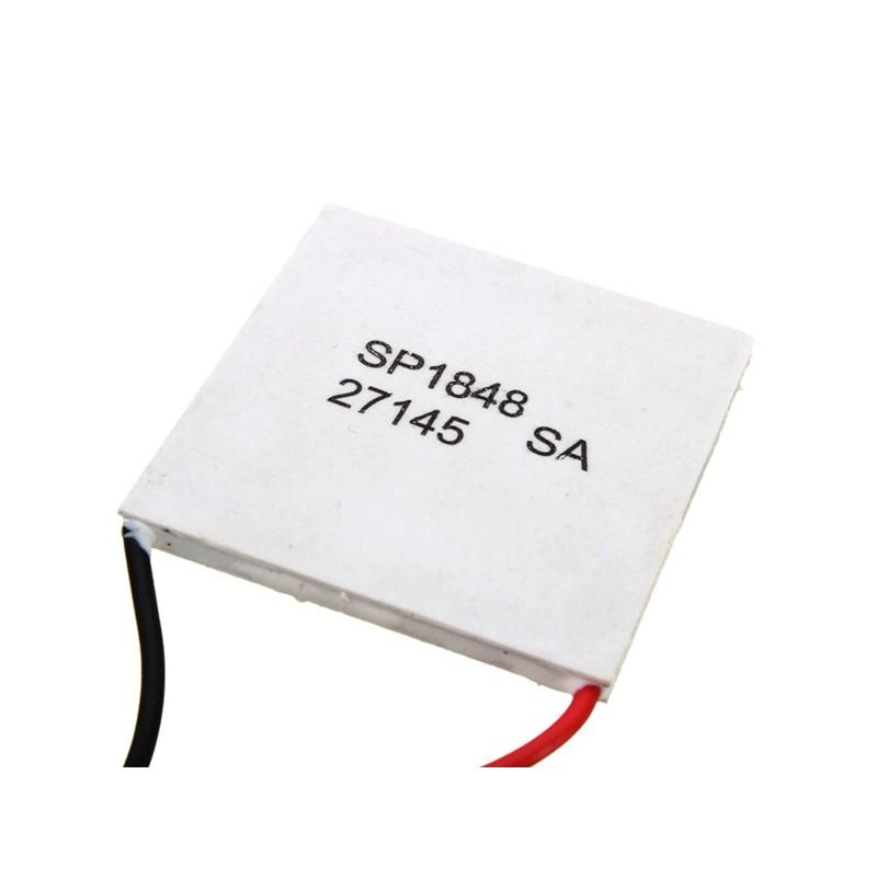 Module thermo/électrique 1//3//5//10 pi/èces SP1848-27145 g/én/érateur d/énergie thermo/électrique Peltier TEG 40x40mm 150 ℃