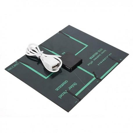 Panneau Solaire 3.5W 6V avec sortie USB